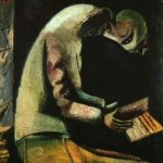 M. Chagall, Ebreo in preghiera